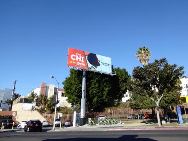 The Chi series billboard