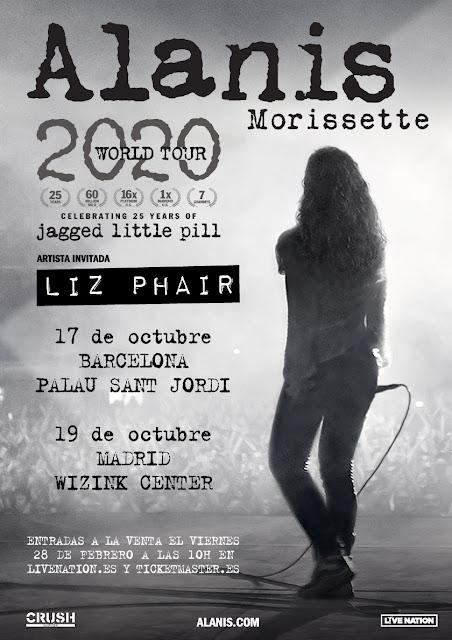 Agenda de giras, conciertos y festivales - Página 2 Alanis2020