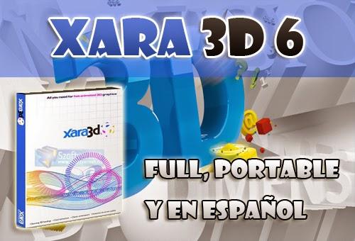 Descargar Xara 3d 6 Full Portable Y En Español Hacer Logos