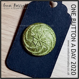 Day 240 : Leek, 1017 - One Button a Day 2020 by Gina Barrett