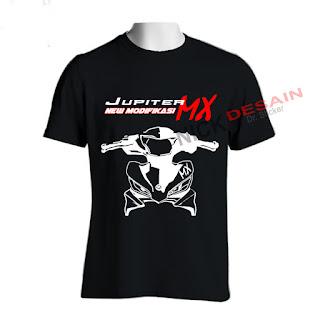 Sablon Kaos - T-shirt Motif Jupiter New Jupiter MX (NJMX) | Tanjungbalai
