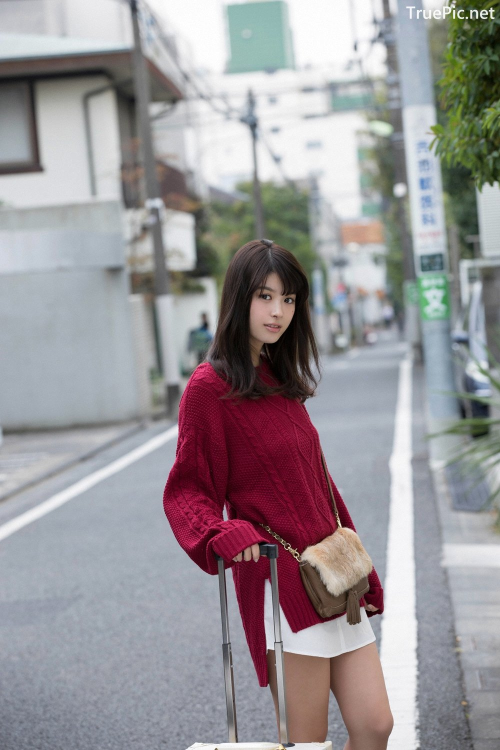 Japanese Actress And Model - Fumika Baba - YS Web Vol.729 - TruePic.net - Picture-2