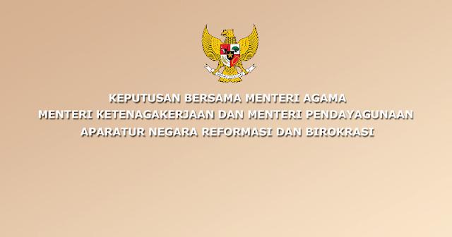 Surat Keputusan Bersama (SKB) Tentang Hari Libur Nasional dan Cuti Bersama Tahun 2021