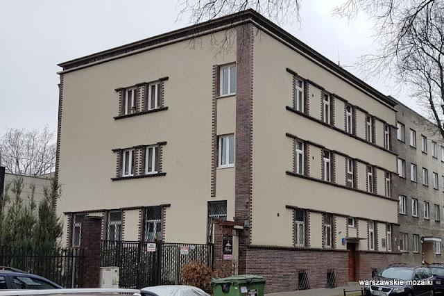 Warszawa Warsaw kamienica Mokotów architektura Mokotowa willa budynek Jan Koszczyc Witkiewicz