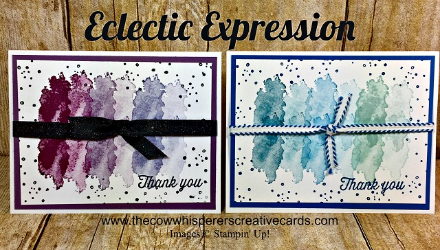 Card, Clean & Simple, Eclectic Expressions, Stampin UP