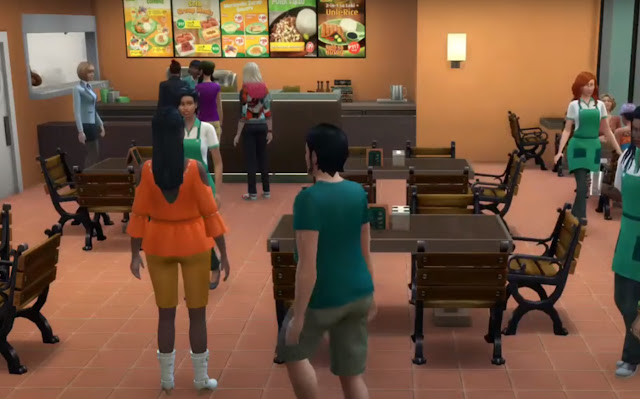 Sims 4 Pinoy Stuff Pack Mang Inasal Menu
