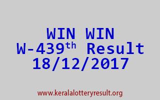WIN WIN Lottery W 439 Results 18-12-2017