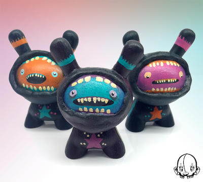 "The Triplets Custom 3"" Dunnys by Donta Santistevan"