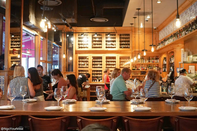 Dining Room at The Purple Pig in Chicago