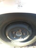 Uhaul Camper Tire Pic