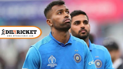 Hardik pandya has failed in Fitness test