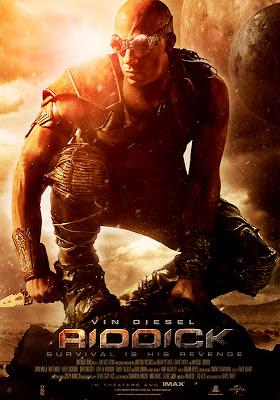 Poster Riddick - 2013