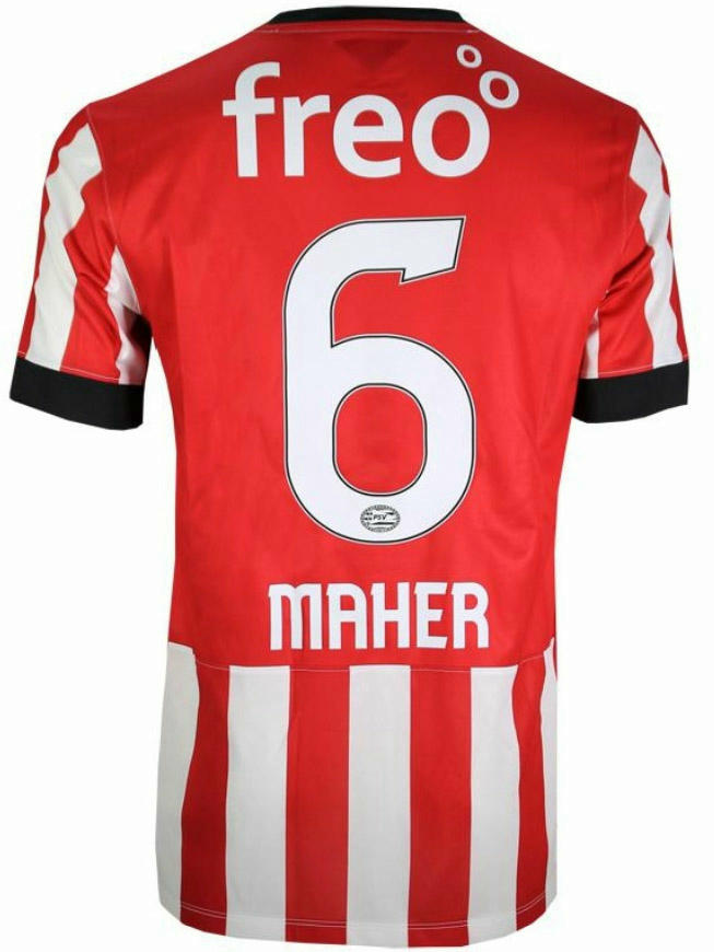 4e968f1eded This is the new PSV 2014-15 Home Shirt.