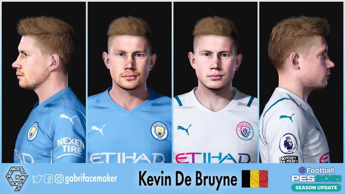 New Face Kevin De Bryune For eFootball PES 2021
