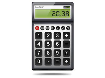 Calculator Icon (PSD)