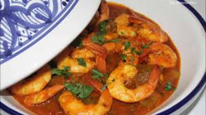 Tajine shrimp