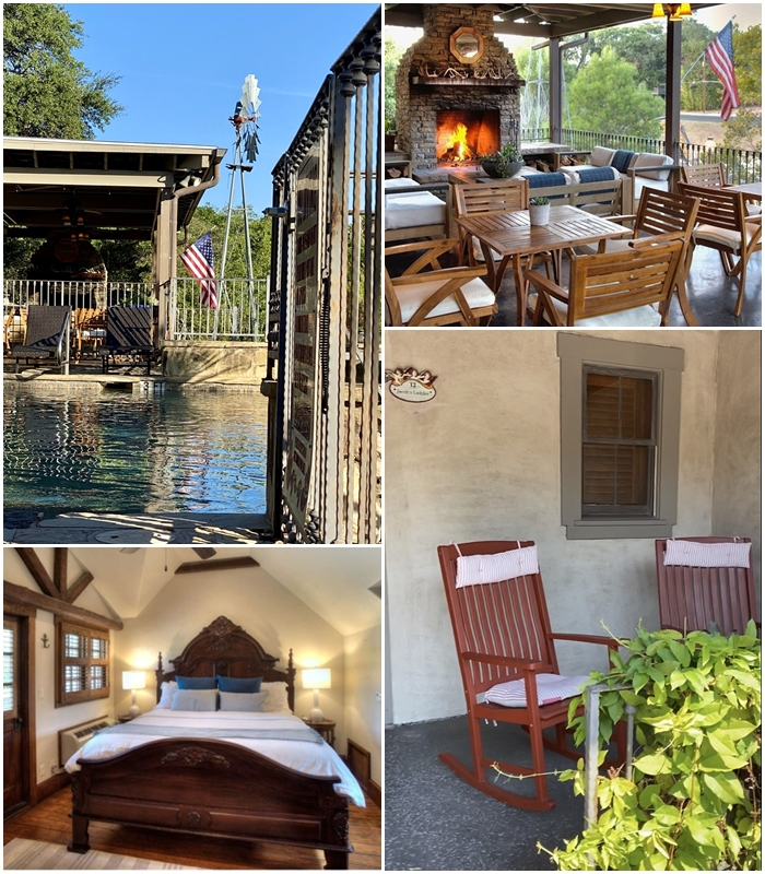 where to stay in Fredericksburg, lodge above town creek