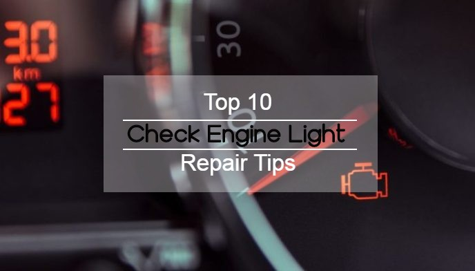 Top 10 Things To Do When Your Car's Check Engine Light Goes On