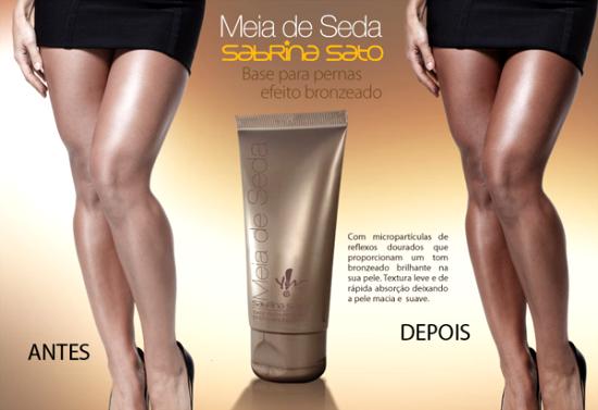 Meia de Seda Sabrina Sato Yes Cosmetics