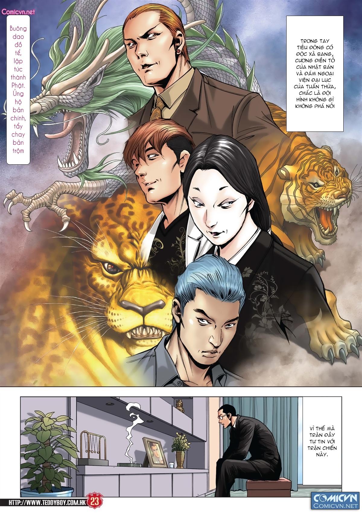 Người Trong Giang Hồ chapter 2011: hàn tân bỏ trốn trang 21