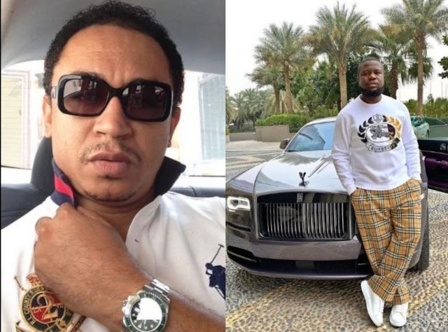 Daddy Freeze slammed by Nigerians after video of him dining with Hushpuppi resurfaces online