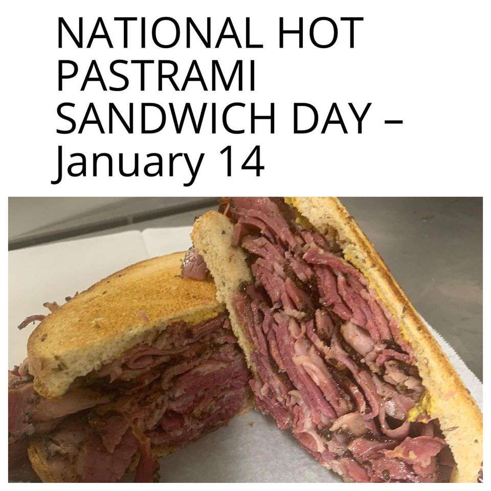 National Hot Pastrami Sandwich Day Wishes Sweet Images