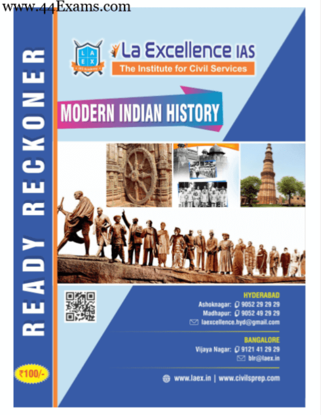 La-Excellence-Modern-Indian-History-For-UPSC-Exam-PDF-Book