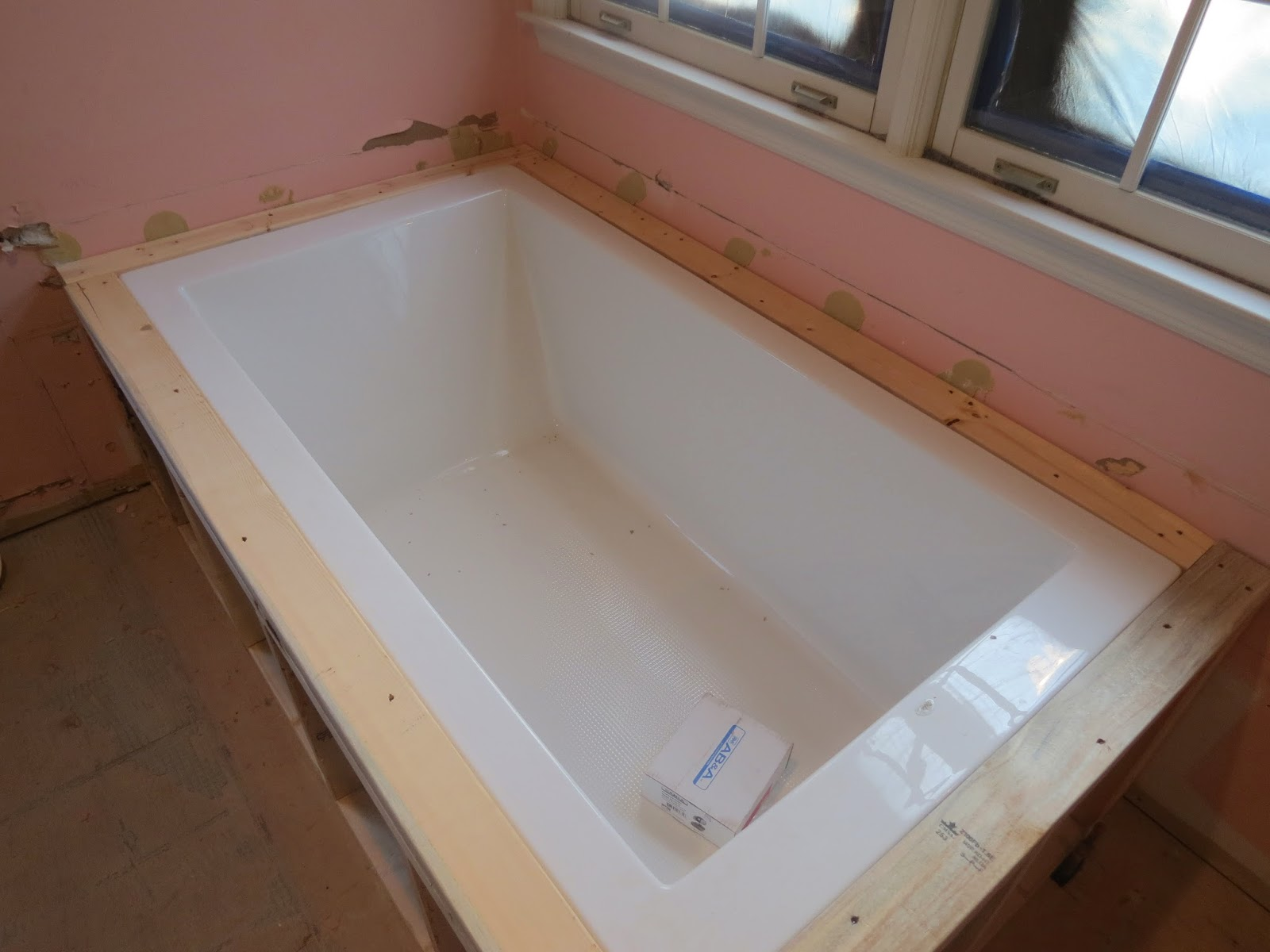 Framing a Tub Surround - Bing images