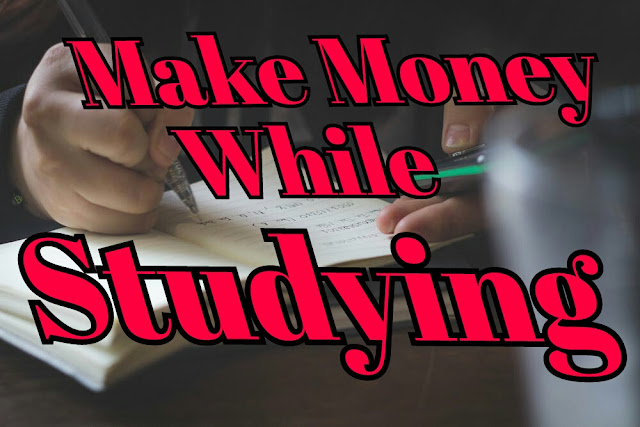 Making money from study