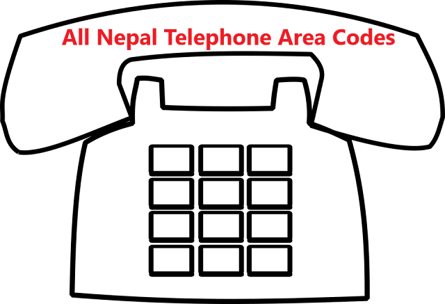 Nepal Telephone Area Codes