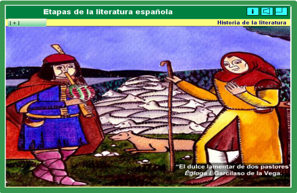 http://www.tinglado.net/?id=Etapas-de-la-literatura-espanola