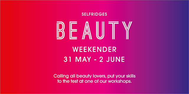 Selfridges Beauty Weekender Flyer