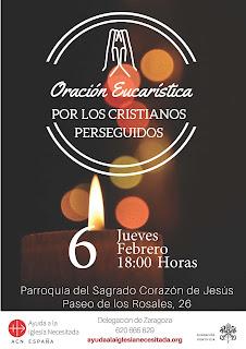 6-II-20. Oración por los cristianos perseguidos