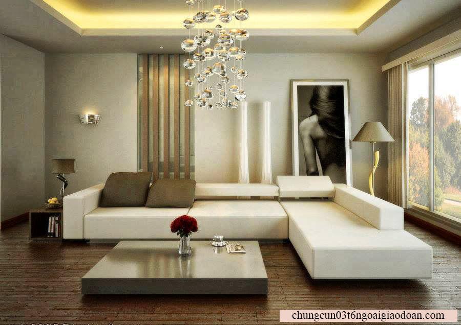 Một số mẫu thiết kế căn hộ đẹp tại chung cư N03T6 Ngoại Giao Đoàn