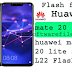 Huawei Mate 20 Lite SNE-L22 Smart phone (Stock Rom) Flash Firmware File GSM Software File
