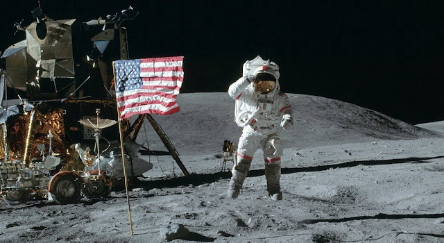 Was it wrong to tell that people on moon was real?