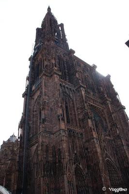 L'imponente Cattedrale di Nostra Signora di Straburgo