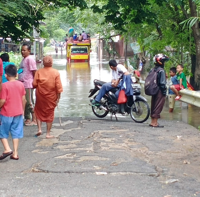 banjir kabupaten bekasi 2020