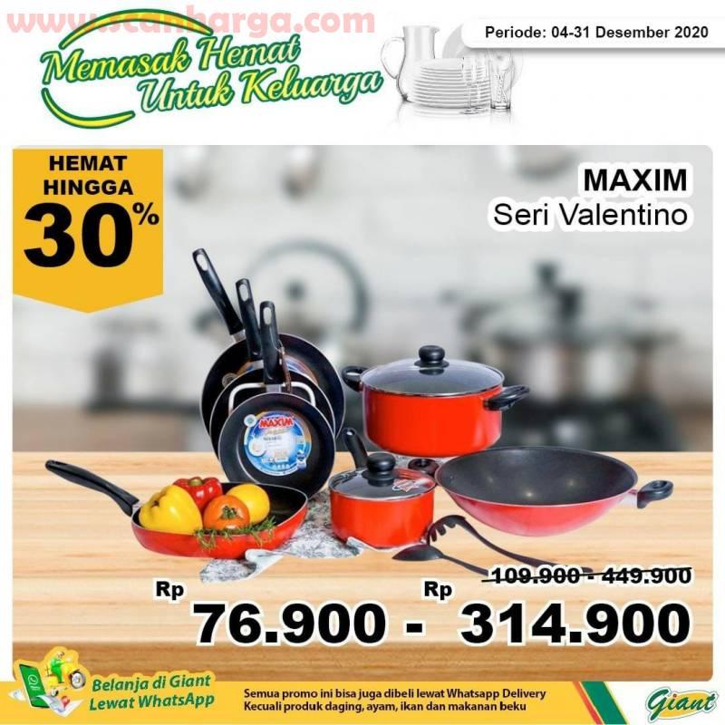 Giant Promo harga Spesial Teflon Maxim Seri Neostone - Diskon hemat hingga 30% 2