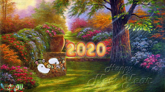Happy New year 2020 Full HD Nature HD Images