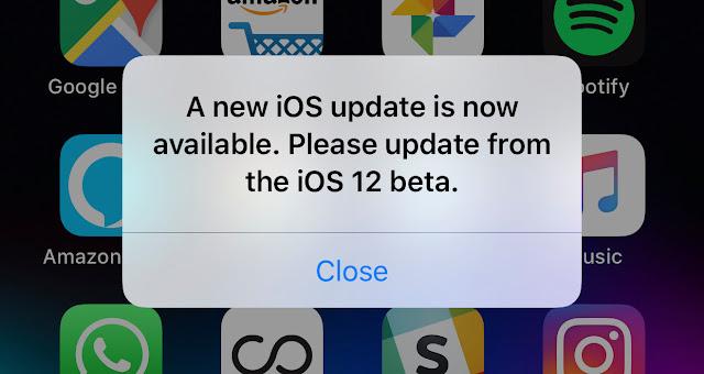 iOS 12 Sudah Tersedia