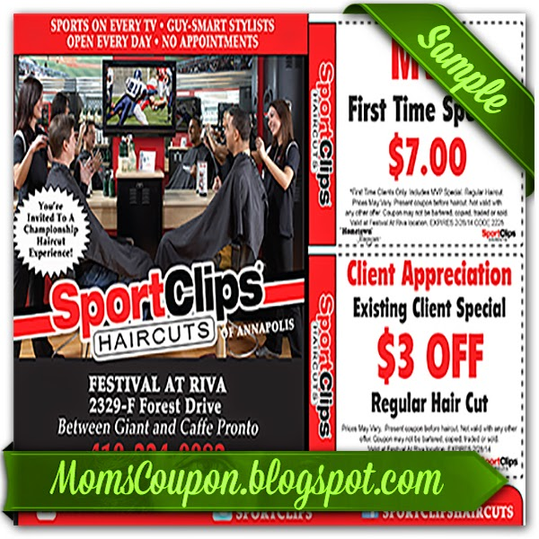 It's just an image of Critical Sports Clip Coupon Printable