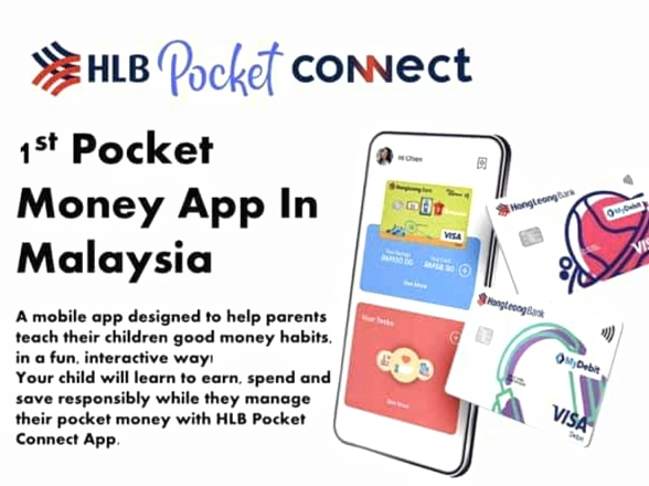 Didik Anak-anak Cara Pengurusan Kewangan Yang Betul Dengan HLB Pocket Connect