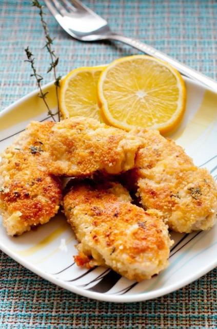 Parmesan Chicken Cutlets (Weight Watchers)