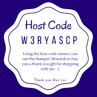Nigezza Creates Stampin' Up! Host code W3RYASCP