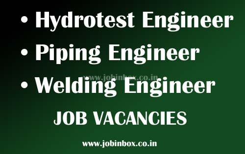 Engineering Jobs in Oman (Hydrotest - Piping - Welding) - Urgent Vacancy Asiapower