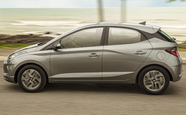 Hyundai HB20 2022 - carro mais vendido do Brasil em setembro