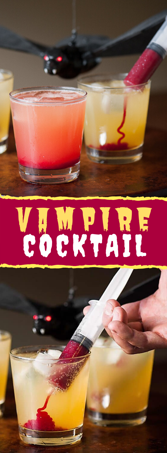 HALLOWEEN VAMPIRE COCKTAIL #drinks #partydrink
