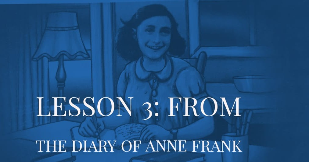 Lesson 3 | From the diary of Anne Frank questions answers ...