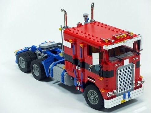 gambar lego truk gandeng